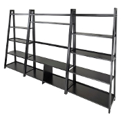 Adam 3pc TV Stand with Book Shelf