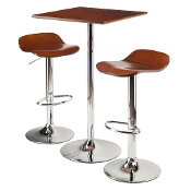 Kallie 3-Pc Set Pub Table Bar Height Stools
