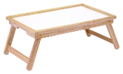 Breakfast Bed Tray, with Notched handle