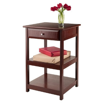 Delta Printer Table Walnut
