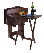 5pc Oversize TV Table