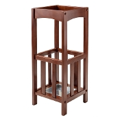 Rex Umbrella Stand with Metal Tray