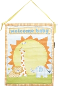 Transpac canvas Welcome Baby Autographable Banner