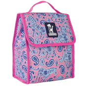 Watercolor Ponies Pink Munch 'n Lunch Bag