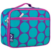 Big Dot Aqua Lunch Box