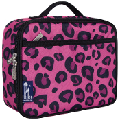 Pink Leopard Lunch Box