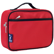 Cardinal Red Lunch Box