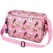 Horses in Pink Lunch Cooler