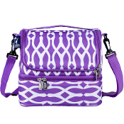 Wishbone Double Decker Lunch Bag