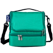 Emerald Green Double Decker Lunch Bag