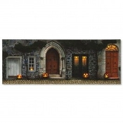 Halloween Doors Lighted Canvas Wall Art