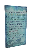 Top 10 Reasons To Be A Mermaid Canvas Print