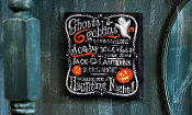 Halloween Lighted Spooky Galor Novelty Sign