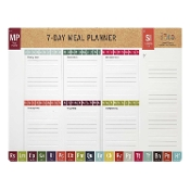Menu Planner Pad - Periodic Table of Yum