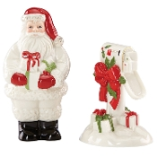 Countdown to Christmas Salt and Pepper Shaker Set, Ivory