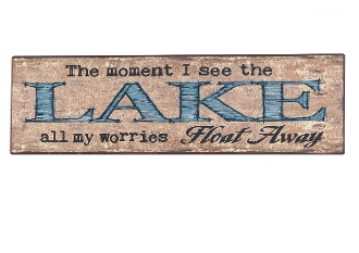 Moment I See The Lake, Novelty Sign