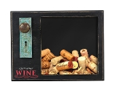 Open Some Wine, Antique Wooden Wine Cork Holder
