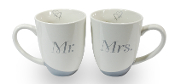 Pavilion Glorious Occasions, Mug Set For Couples, Mr. and Mrs.