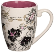 Mark My Words Sister Mug, 4-3/4-Inch, 20-Ounce