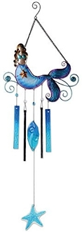 Sunset Vista Designs Beautiful Mermaid Wind Chime, 37""