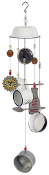 Milk Dish Wind Chime