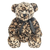 Leopard Bear 15 inch - Teddy Bear by Ganz