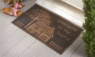 Rubber Doormat, Welcome To My Home