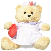 Ganz Hospital Bear - Nurse Plush