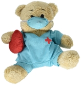 Ganz Hospital Bear -Doctor Plush