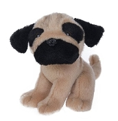 Baby Pug Puppy Stuffed Animal