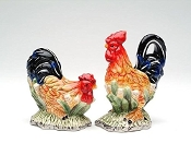 Rooster Salt and Pepper Shakers