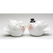 Wedding Love Birds Salt and Pepper Shaker Set