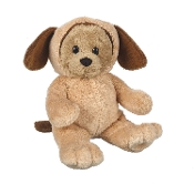 "Ganz 6"" Wee Bear Knit Plush, Dog"