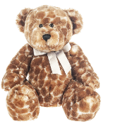Giraffe Bear 15 inch - Teddy Bear by Ganz