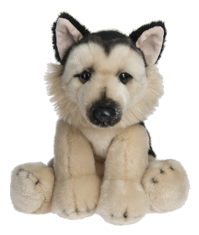 "Ganz 12"" Stuffed German Shepherd"