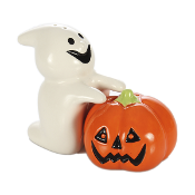 Halloween Decorative Ghost and Pumpkin Salt and Pepper Shakers