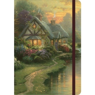 "Classic Journal - ""A Quiet Evening"" - Art by Thomas Kinkade"
