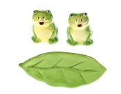 Ganz 2 inch Frogs Salt & Pepper Shaker Set