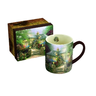 Hollyhock House 14 oz. Mug