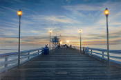 Lighted Pier Light-Up Canvas