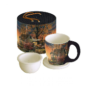 Morning Sunrise Tea Cup Set