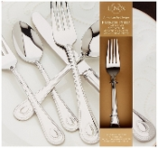 Lenox 65-Piece French Perle Flatware Set