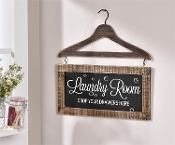 Laundry Room Drop Your Drawers Here Wall Sign
