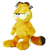 "Aurora 10"" Garfield Floppy Plush"