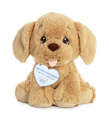 "Aurora 8.5"" Precious Moments Rocket Retriever Plush"
