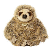 "Aurora 12"" Miyoni Sloth Plush"
