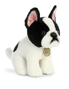 "Aurora 11"" Miyoni Boston Terrier Plush"