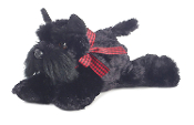 "Aurora 8"" Mini Flopsie Scotty Dog Plush"