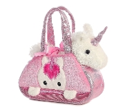 Aurora Fancy Pals Pet Carrier, Peek-A-Boo Unicorn