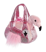 Aurora Fancy Pals Peek-A-Boo Flamingo Plush